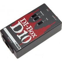 Klotz D10 DI box passzív, monó, kapcsolható osztó, GND