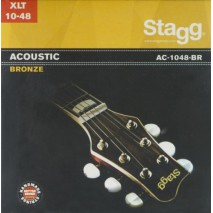 Stagg AC-1048-BR akusztikus húrkészlet