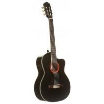 Romero by La Mancha 41 CWE  Elektro akusztikus Klasszikus gitár