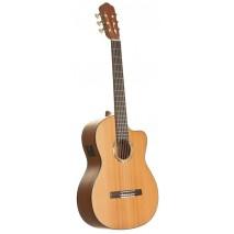 Romero by La Mancha Marmol 51 CWE Elektro akusztikus Klasszikus gitár