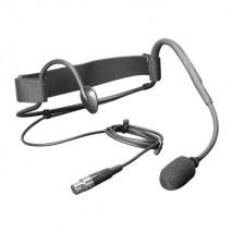 LD Systems fejmikrofon aerobik fejpánttal, 3 pólusú mini XLR csatlakozóval szerelve