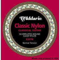 D'Addario EJ27-N Klasszikus – nylon húro