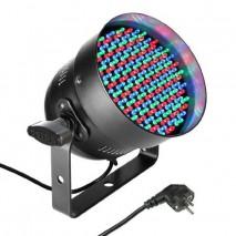 Cameo Light LED PAR 56 151x5 mm-es RGB LED, fekete