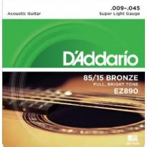 D'Addario EZ890 Akusztikus gitár húr