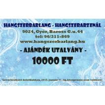 AJÁNDÉK UTALVÁNY 10.000,-Ft ÉRTÉKBEN