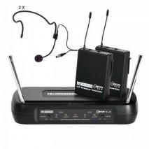 LDWSECO2X2BPH1 vezetéknélküli mikrofon