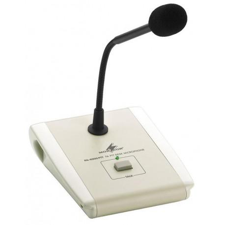 Stage Line PA-4000PTT, pA asztali mikrofon (utasító)