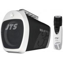 JTS WA-35, hordozható hangosítókombó MP3-lejátszóval, FM-rádióval és vezeték nélküli mikrofonnal