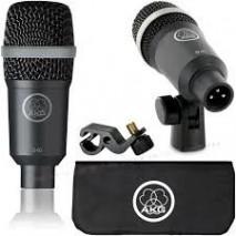 AKG D40 Dinamikus hangszermikrofon