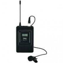 Stage Line TXS-606LT, multifrekvenciás zsebadó csiptetõs mikrofonnal