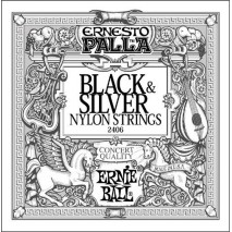Ernie Ball 2406 Ernesto Palla Classical Black&Silver