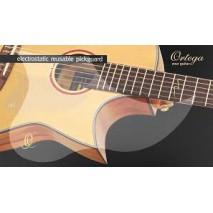 Ortega OERP Akusztikus gitár koptató fólia, átlátszó