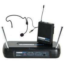 LD Systems WSECO 2BPH1 Egycsatornás diversity rendszerű UHF vezeték nélküli készlet