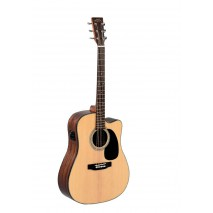 Sigma SI-DMC-1STE elektroakusztikus gitár, natúr