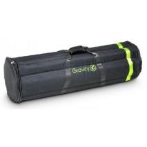 Gravity G-BGMS6B szállítótáska– 6 darab külön rekesszel, mikrofonállványhoz, fekete