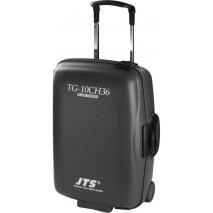 JTS TG-10CH36 kerekes bőrönd beépített akkumulátortöltővel