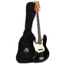 SX SJB62-LH-BK basszusgitár szett