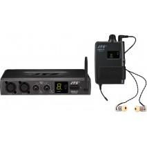 JTS SIEM-2/5, monó URH PLL fülhallgatós monitorrendszer