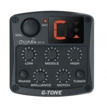 Cherub GT-3 elektronika akusztikus gitárhoz