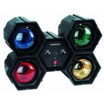 Eurolite - RFL-4  Fényorgona beépített színes izzókkal, 4x60W
