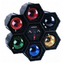 Eurolite - RFL-6 Fényorgona beépített színes izzókkal, 6x60W