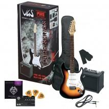 Cort X-1 Junior w/bag elektromos gitár + tok