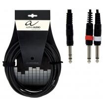 Alpha Audio Y-kábel 1,5 méter