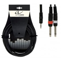 Alpha Audio Y-kábel 1,5 méter