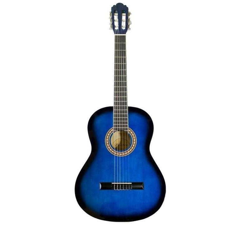 Pasadena cg161 3 4 blue burst klasszikus git r for Yamaha of pasadena