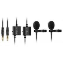 iRig Mic Lav 2 Pack Csíptethető kondenzátor mikrofon csomag