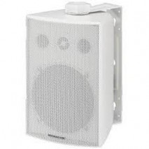 Stage Line ESP-230/WS, pA hangsugárzók időjárásálló fehér műanyag házzal, elöl alumínium ráccsal