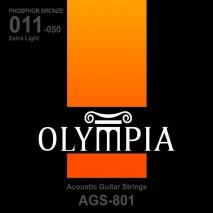 Olympia AGS 801 Akusztikus gitárhúr