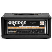 Orange Dual Dark 50W High-Gain Guitar Head Black Csöves gitárerősítők