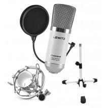 LEWITZ C100USB-W SET kondenzátor mikrofon szett