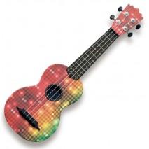 Pasadena WU-21G2(BK) Szoprán ukulele