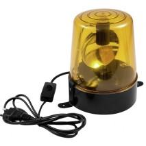 EUROLITE DE-1 230V 15W Sárga rendőrlámpa