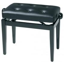 Deluxe magasfényű fekete zongorapad