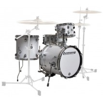 Ludwig Breakbeats - LC179X028 White Sparkle