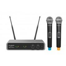 Rh Sound WR-207 kétcsatornás UHF vezeték nélküli mikrofonkészlet