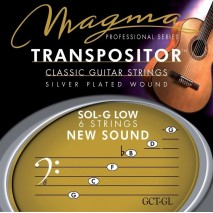 Magma klasszikus gitár húr Transpositor