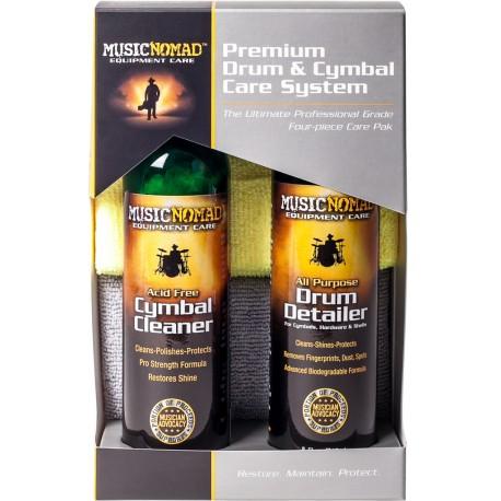 MusicNomad MN112 Premium Drum & Cymbal Care System dob tisztító szett