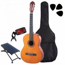 Klasszikus gitár kezdő szett 3/4 es méret