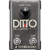 TC Electronic Ditto Mic Looper mikrofon effekt