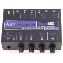 ART macromix 4 csatornás mini keverő