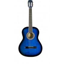 Pasadena CG161 1/2 Blue Burst Klasszikus gitár