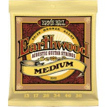 Ernie Ball 2002 EARTHWOOD BRONZE MEDIUM 13-56