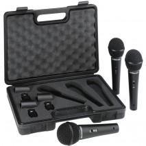 Behringer XM1800S ének mikrofon 3-as szett