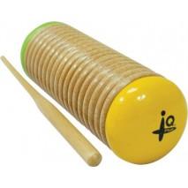 IQ Plus Yellow and Green Wooden Guiro