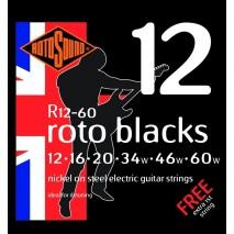 Rotosound R12-60 Roto Blacks elektromos gitárhúr
