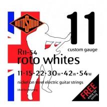 Rotosound R11-54 Roto Whites elektromos gitárhúr